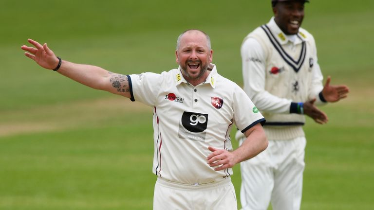 Darren Stevens took six wickets, a few days after turning 42