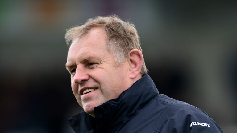 There was also an award for Newcastle Falcons' director of rugby Dean Richards