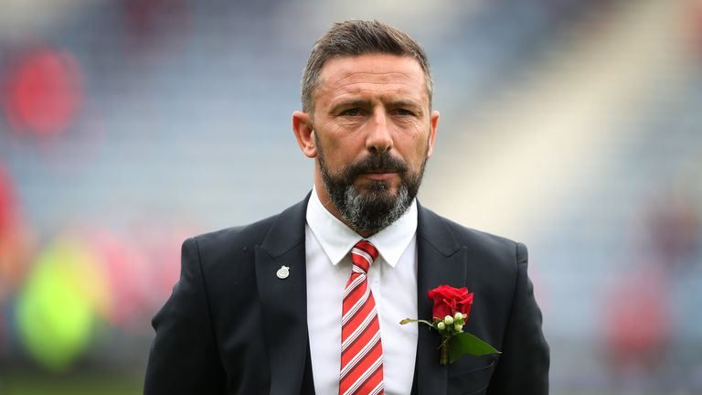 Derek McInnes's side are on the brink of finishing second in the Scottish Premiership