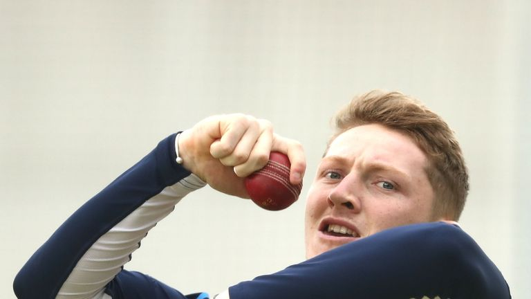 Dom Bess has earned his first England Test call-up