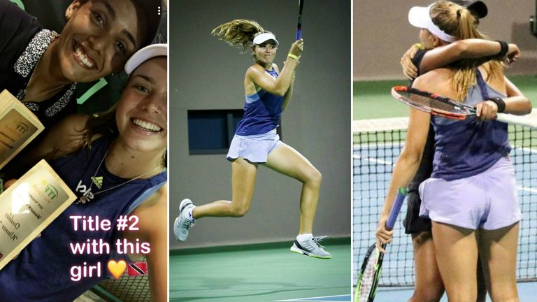 Emily Appleton picked up her second doubles title in the Caribbean