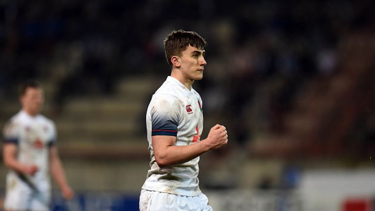 Cameron Redpath has been rewarded for his performances for the England U20 side
