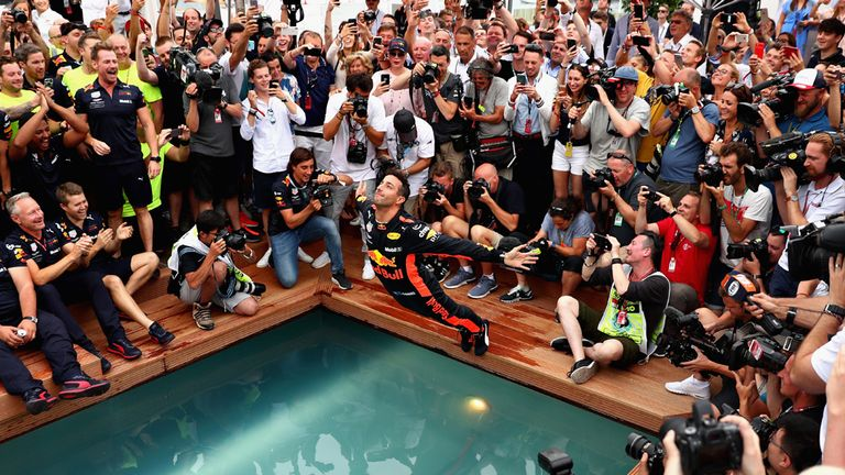 Red Bull's Ricciardo overcomes power loss to win Monaco GP