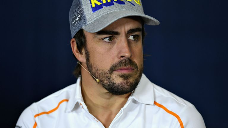 Sad Alonso hints at Formula One exit