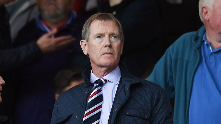 Rangers chairman Dave King has called for Hughes to be suspended by the SFA
