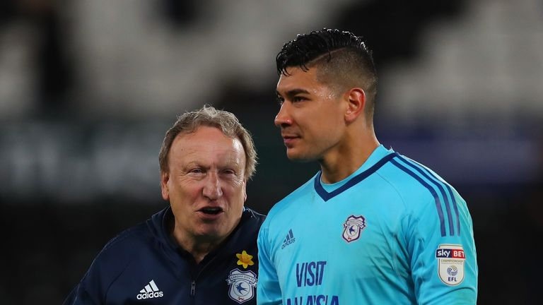 Neil Etheridge came close to quitting English football but is now preparing for life in the Premier League