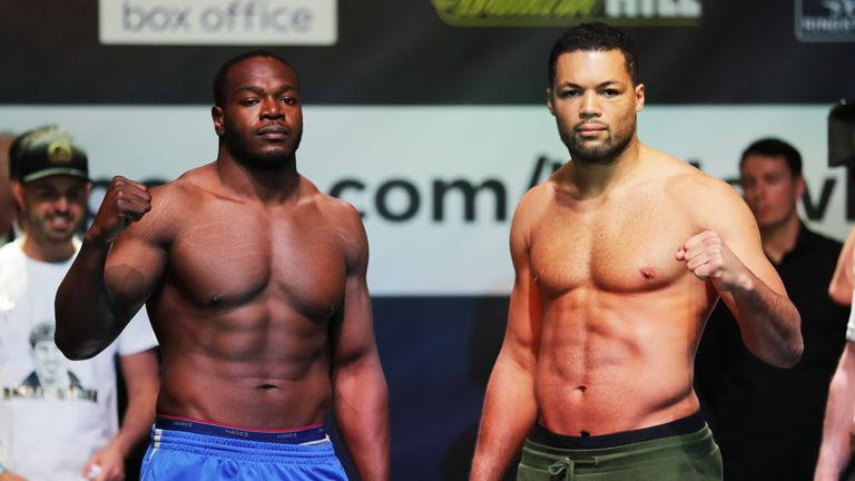 Lenroy Thomas defends his Commonwealth title against Joe Joyce at The O2