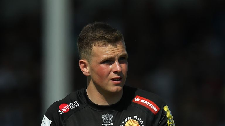 Joe Simmonds is set to play at Twickenham for the first time when Exeter face Saracens in the Aviva Premiership final on Saturday