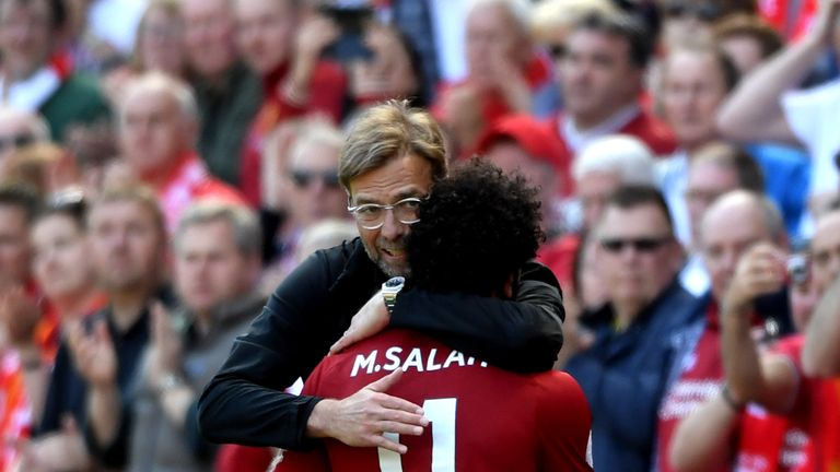 Jurgen Klopp thinks Salah's new deal 'speaks very loudly' about Liverpool's ambitions