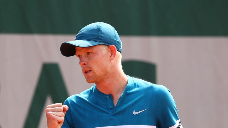 Kyle Edmund sails through French Open first round beating Alex De Minaur