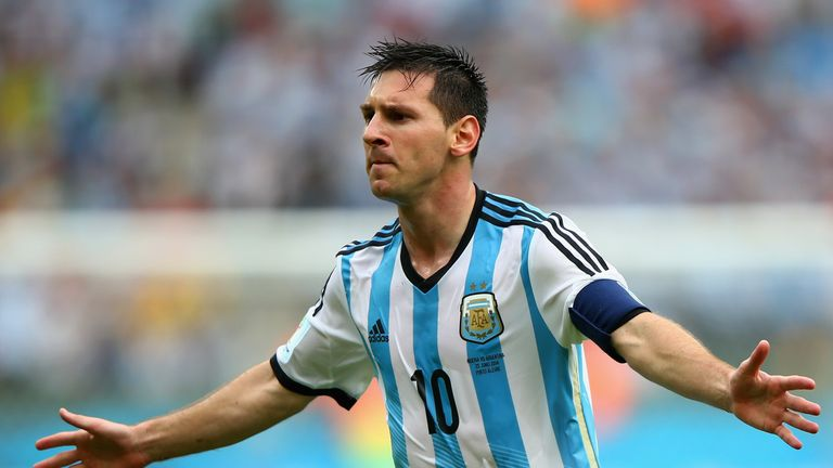Lionel Messi will captain Argentina at the World Cup