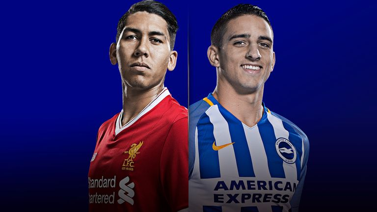 Liverpool v Brighton will be live on Sky Sports Main Event from 2.45pm