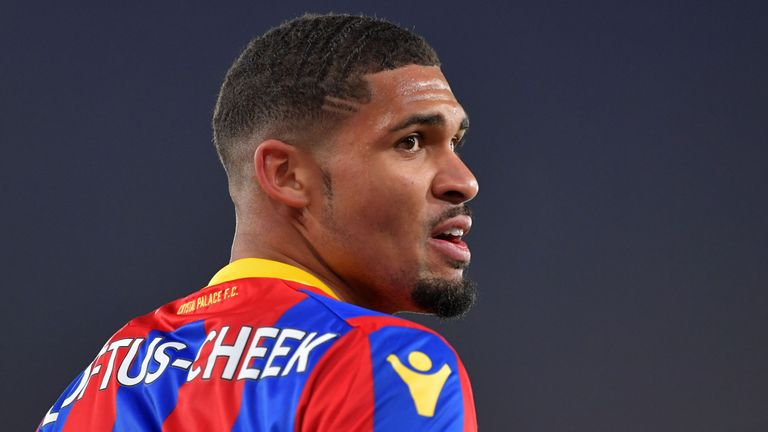 Crystal Palace midfielder Ruben Loftus-Cheek is on the plane, says Wise