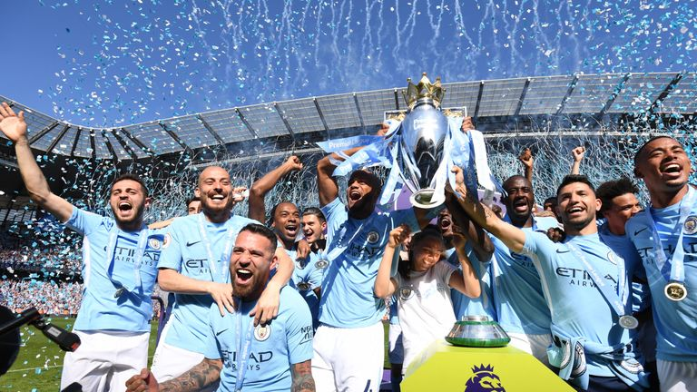 Manchester City are among the top seeds after winning the Premier League title
