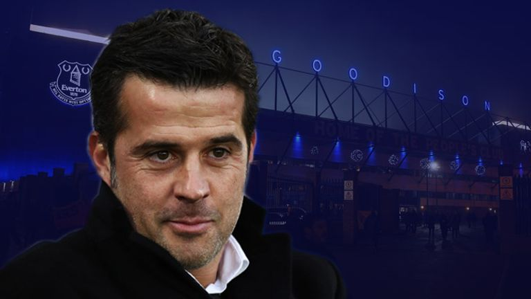 Marco Silva is the favourite to be named as the next Everton manager
