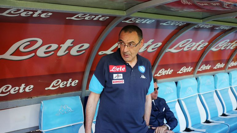 Maurizio Sarri is close to becoming Chelsea head coach