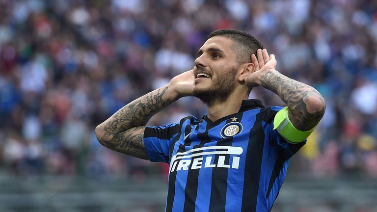Mauro Icardi has a £96.3m release clause in his Inter contract