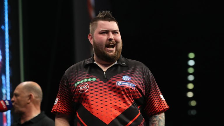Michael Smith is defending his Gibratar Darts Trophy this weekend