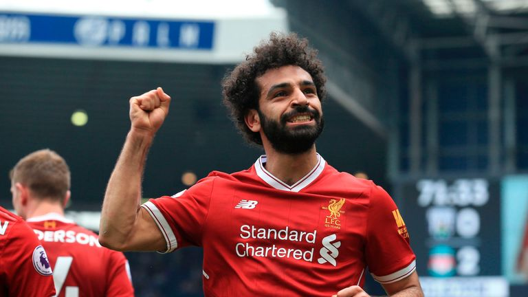 Salah needs hat-trick to over take Messi for Golden Shoe