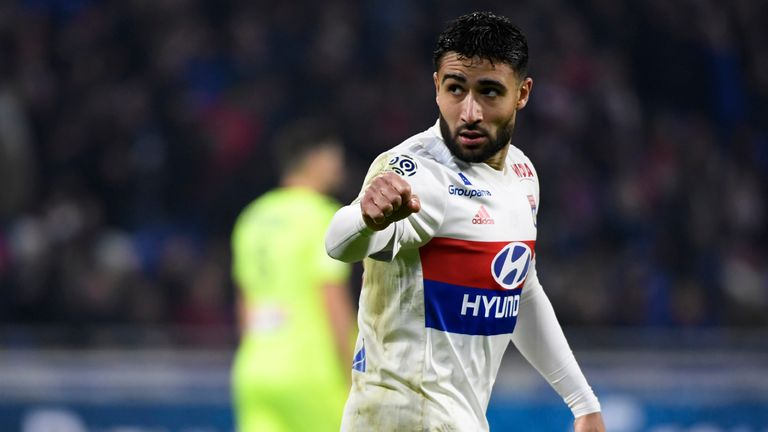 Nabil Fekir has been linked with a move to Liverpool