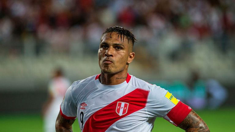 Peru's Guerrero Cleared To Play In World Cup After Cocaine Ban