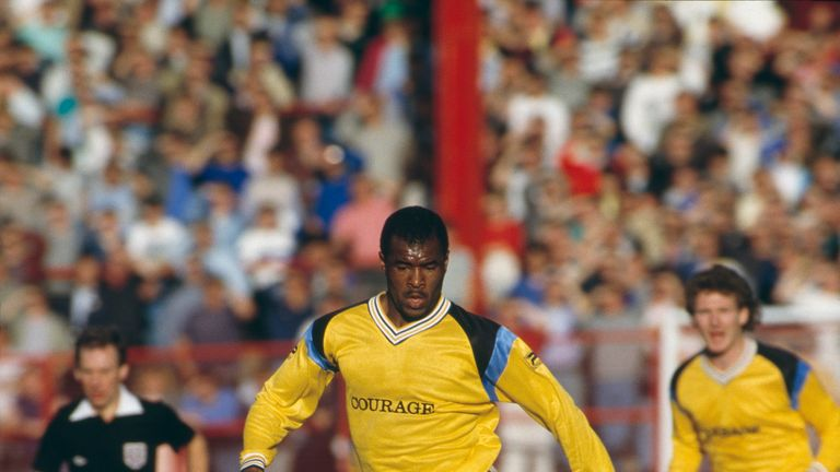 Canoville played over 100 games for Chelsea in the 1980s, but injury curtailed his career