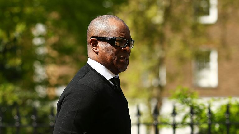 Canoville attends Ray Wilkins' memorial earlier this month