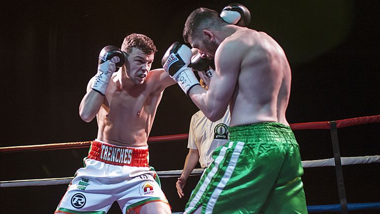 Paul Upton (L) is confident that beating Ted Cheeseman will get him the recognition he deserves