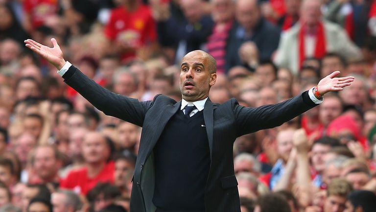 Man City boss Pep Guardiola discusses potential Barca return