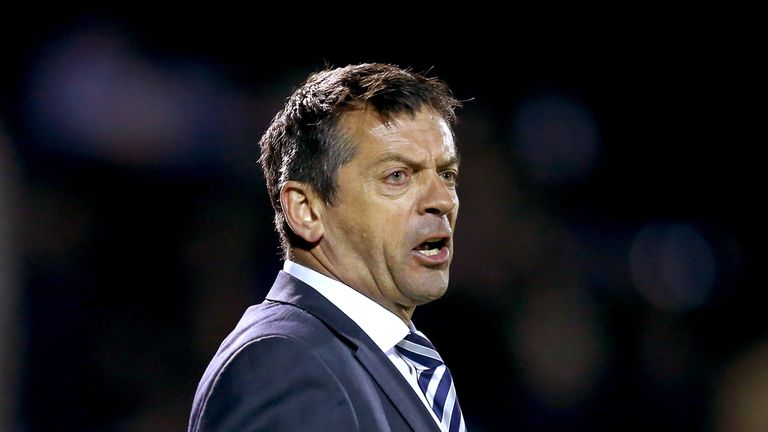 Phil Brown is staying with Swindon