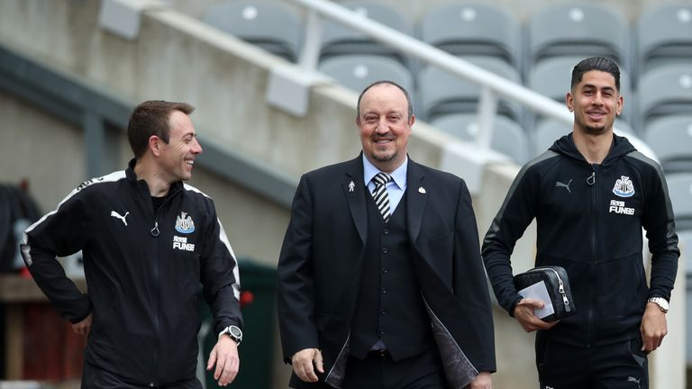 Sky sources understand West Ham are planning to make a move for Newcastle boss Rafa Benitez