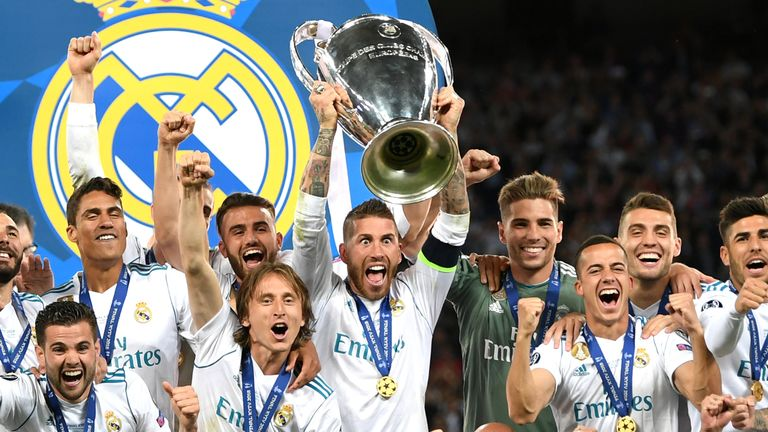 Madrid claimed a 13th European Cup with this their fourth in five seasons