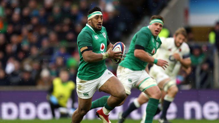 Bundee Aki has won seven caps for Ireland