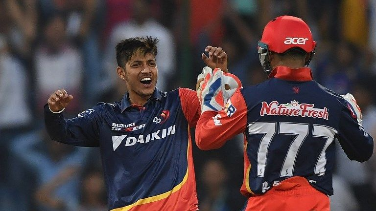 Nepalese legspinner Sandeep Lamichhane played for the Delhi Daredevils in the IPL (Credit: AFP)