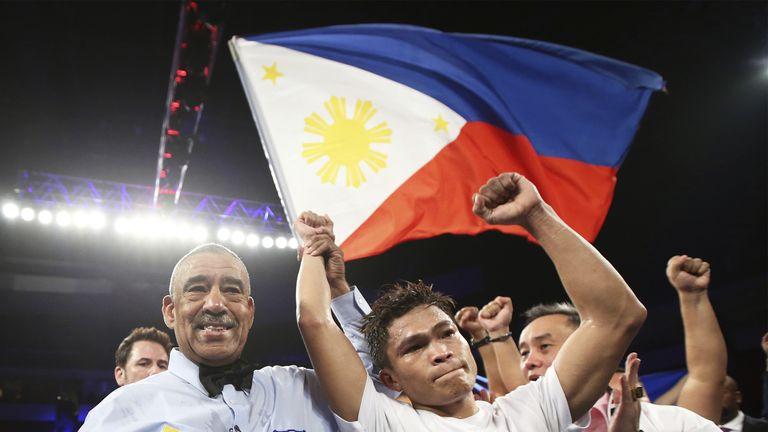 Ancajas is the Philippines' only current world champion (Mikey Williams)