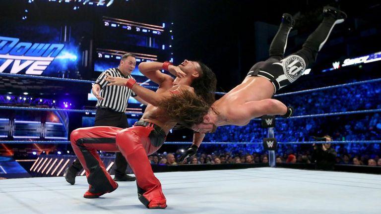 Shinsuke Nakamura beat AJ Styles in a superb match on SmackDown