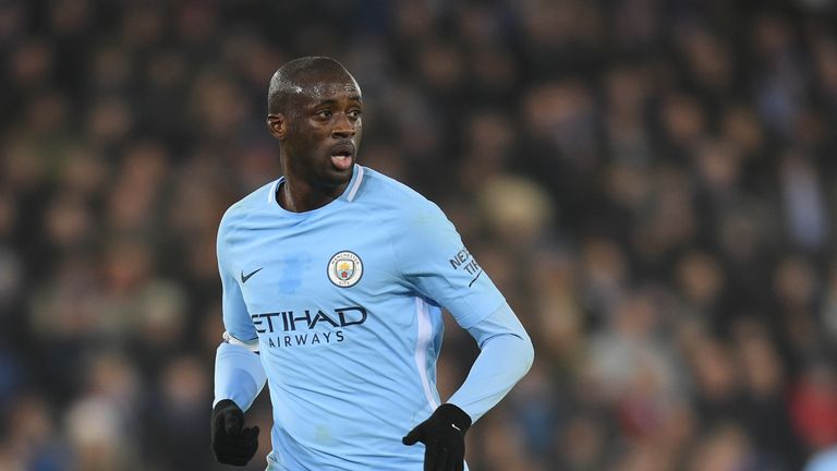 Yaya Toure made 316 appearances in total for City