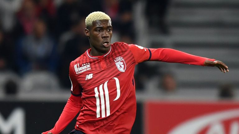 Fulham are also keen on the Lille midfielder Yves Bissouma.