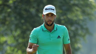 Adrian Otaegui posted a score of three under to secure a two-shot victory