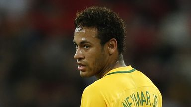 Neymar is part of a 23-man provisional Brazil squad for the World Cup