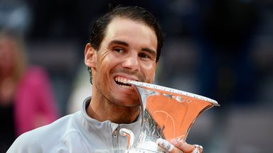 Rafael Nadal is back on top of the world after his win in Rome