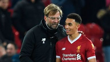 fifa live scores - Trent Alexander-Arnold says Jurgen Klopp told him of England call-up