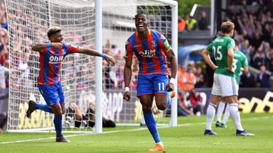 fifa live scores - Tottenham cool Wilfried Zaha interest due to Crystal Palace's valuation