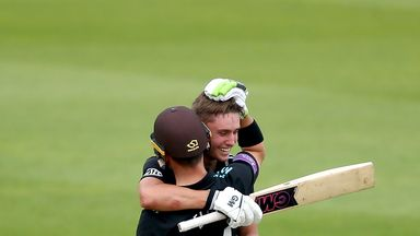 Will Jacks hit his maiden century for Surrey as they beat Gloucestershire