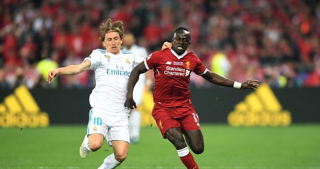 Mane 'very happy' at Liverpool amid Real Madrid links