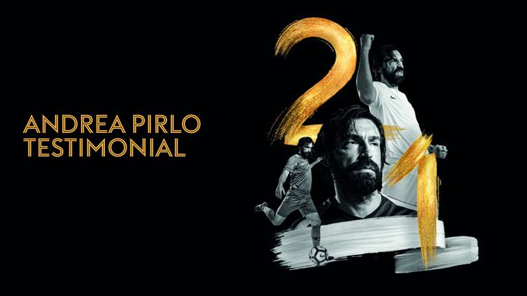 Watch Andrea Pirlo's testimonial live here.