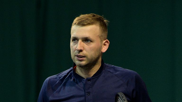 Dan Evans has come through a 12-month ban for failing a test for cocaine in Barcelona last April