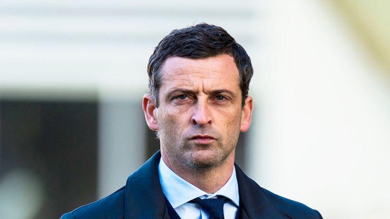 St Mirren manager Jack Ross
