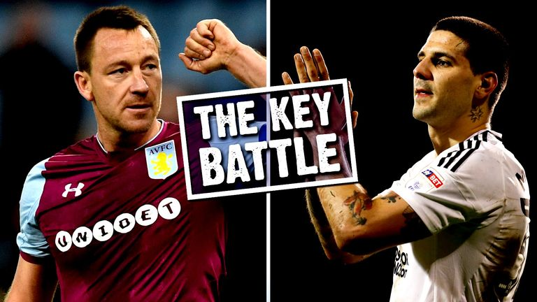 John Terry versus Aleksandar Mitrovic is the key battle when Aston Villa face Fulham in the Championship play-off final