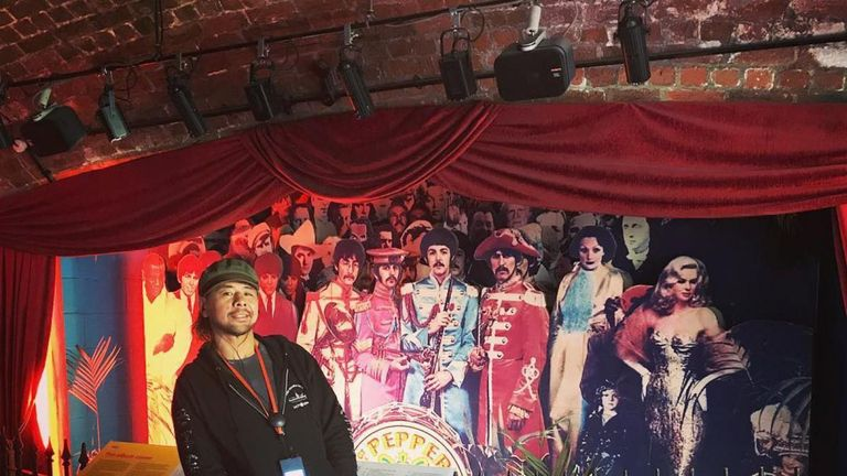 Shinsuke Nakamura found time to visit the Cavern Club when the WWE was in Liverpool